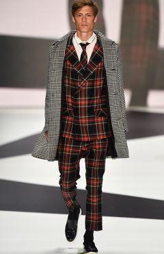 "Gewinnerkollektion ""Zoot Suit"" Matteo Lamandini"